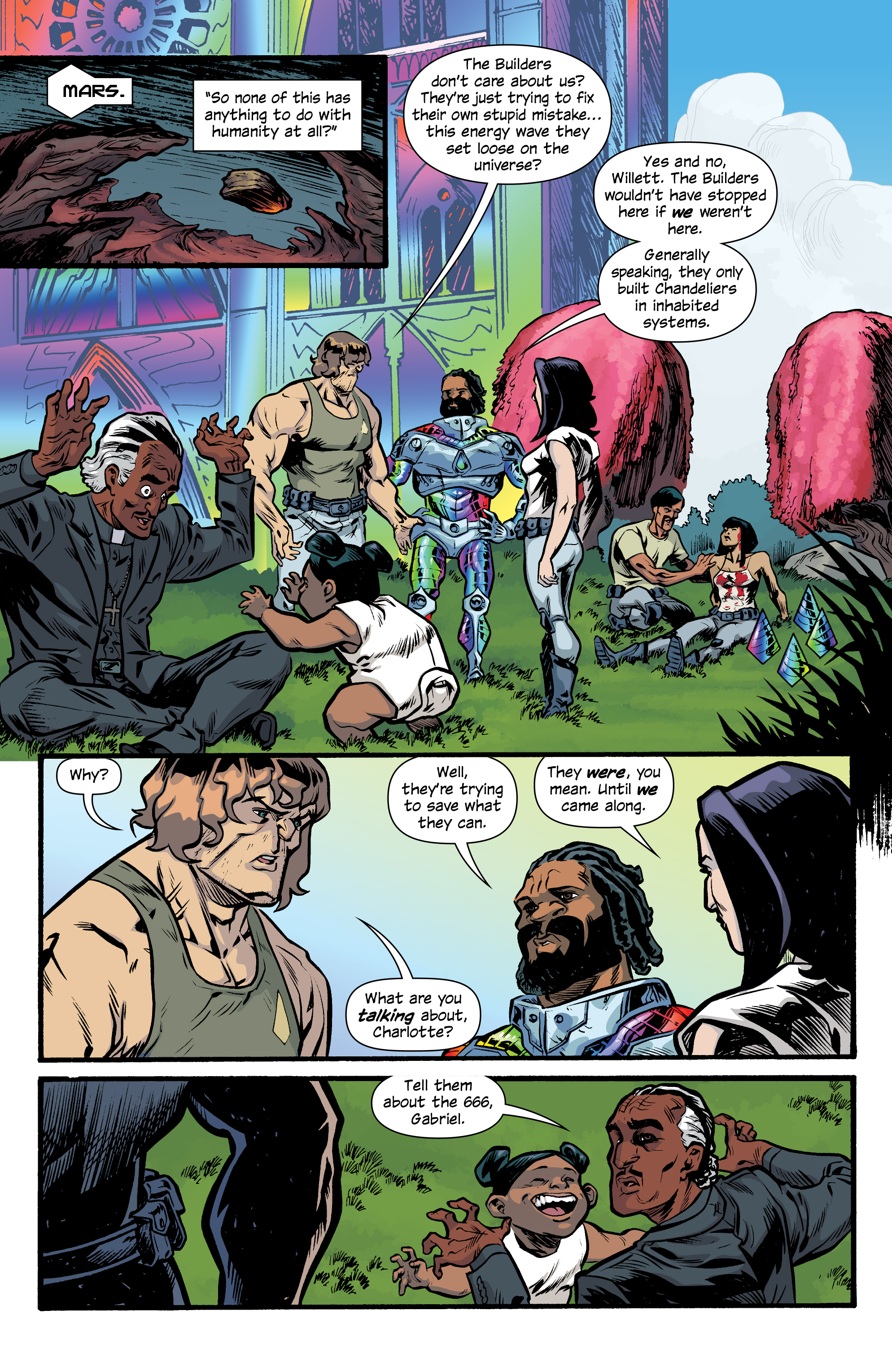 Read online Letter 44 comic -  Issue #33 - 8