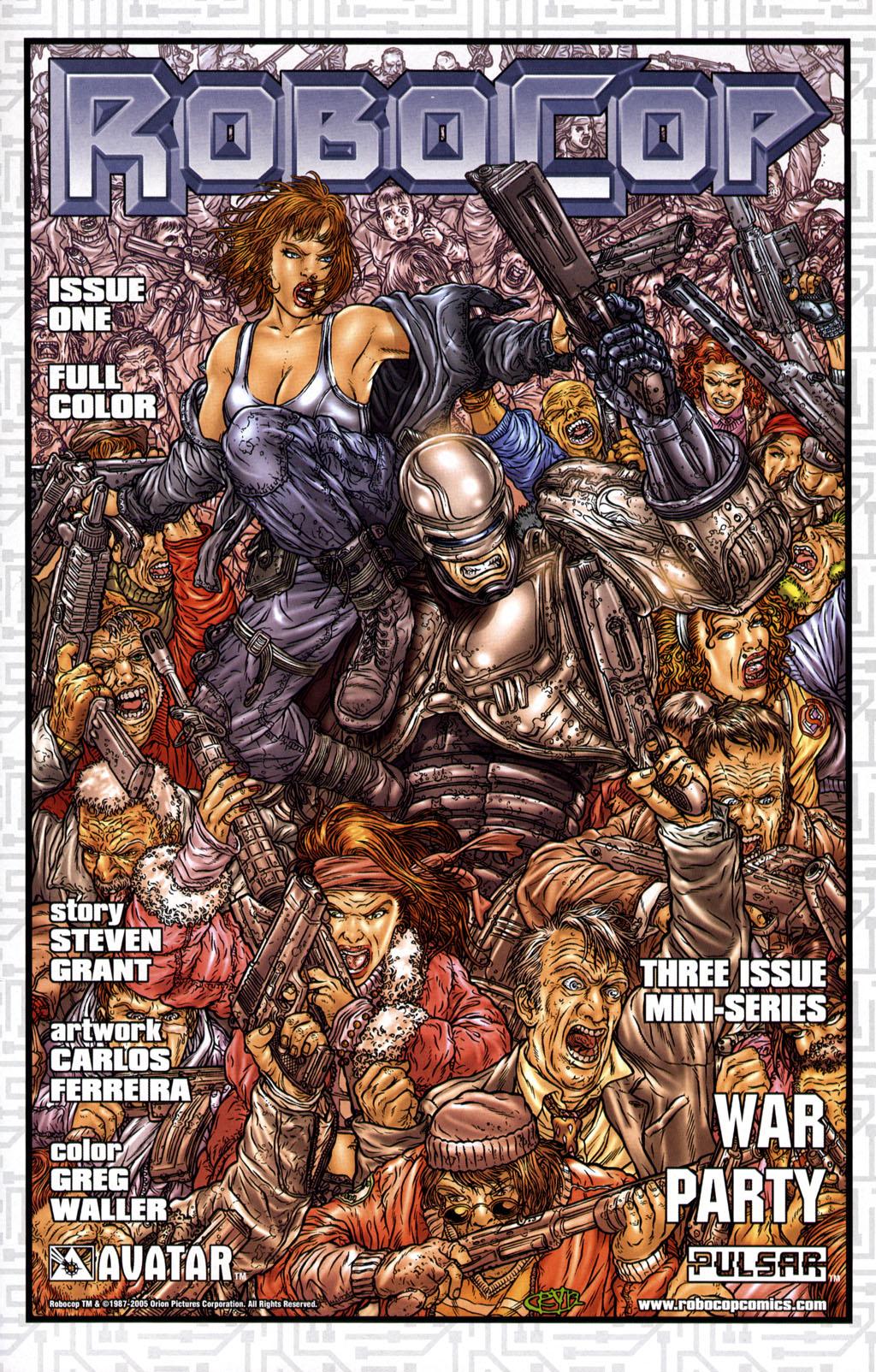 Read online Robocop: Wild Child comic -  Issue # Full - 17