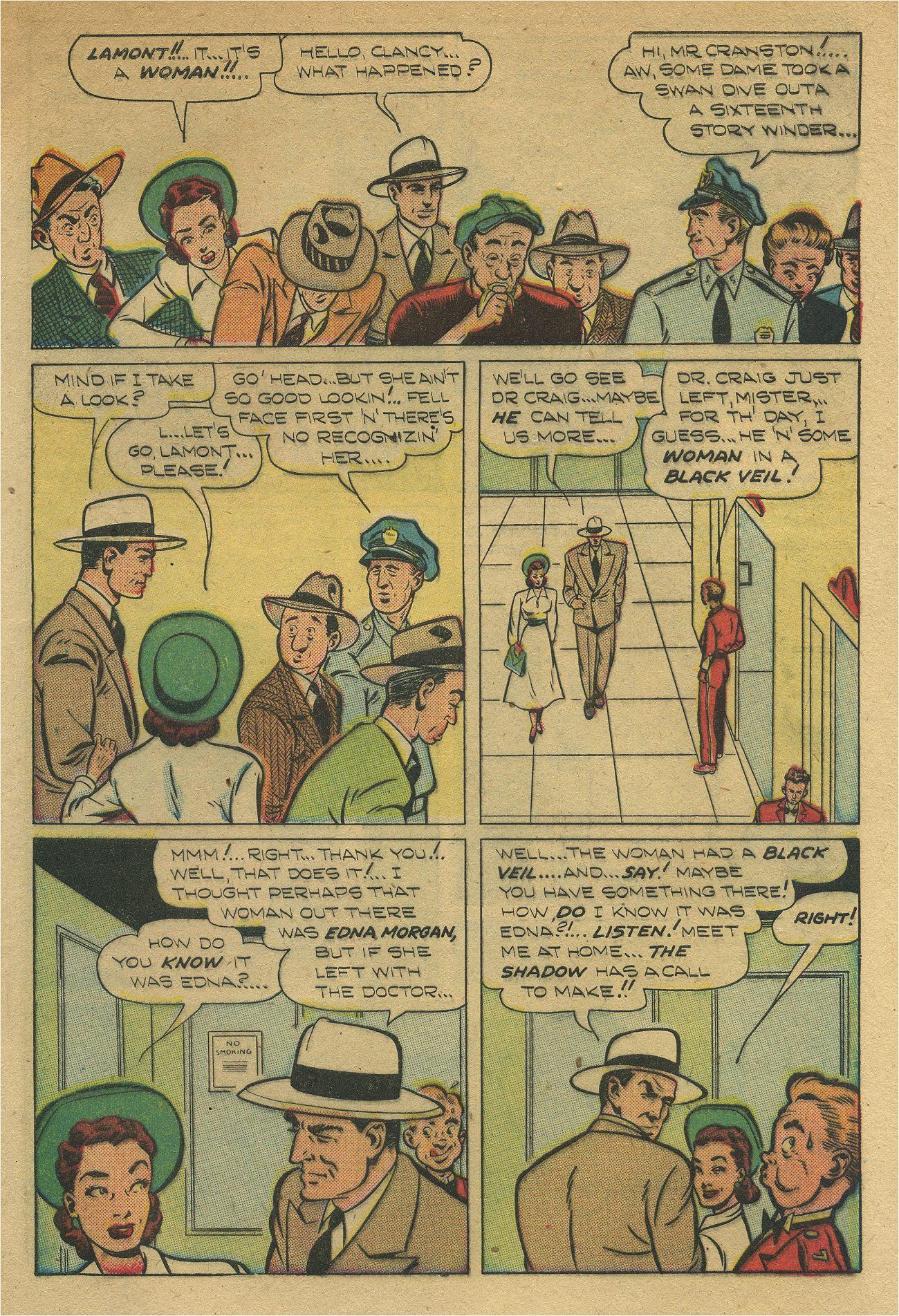 Read online Shadow Comics comic -  Issue #93 - 10