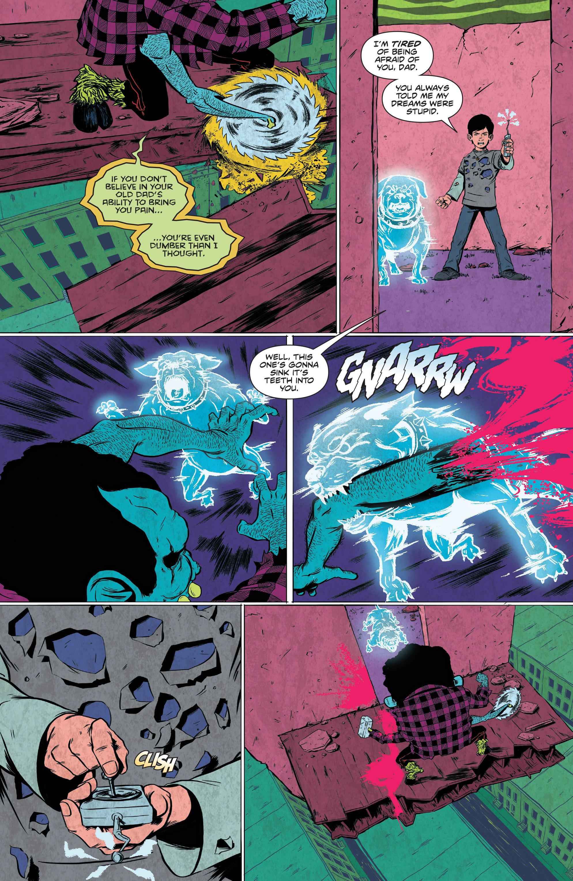 Read online Translucid comic -  Issue #4 - 19