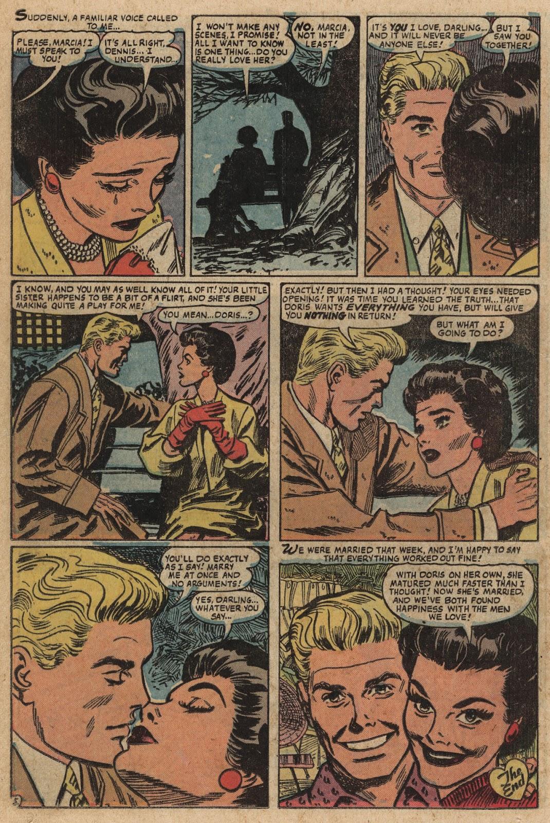 Love Romances (1949) issue 66 - Page 14