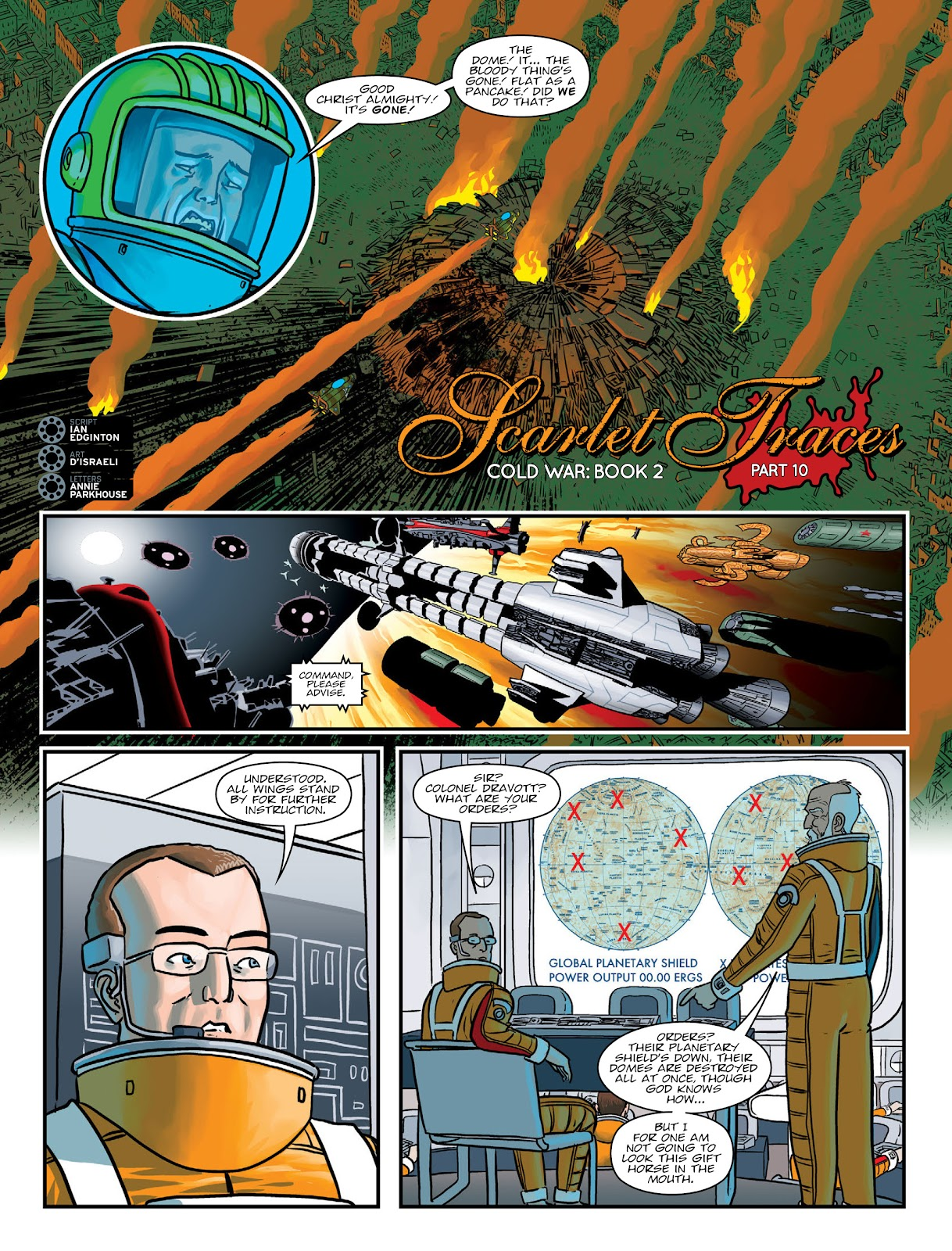 Read online 2000 AD comic -  Issue #2032 - 21