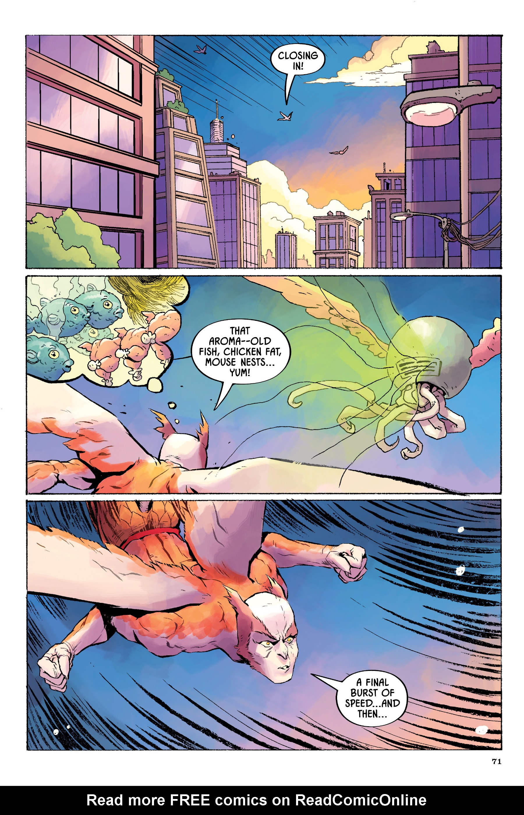 Read online Angel Catbird comic -  Issue # TPB 2 - 72