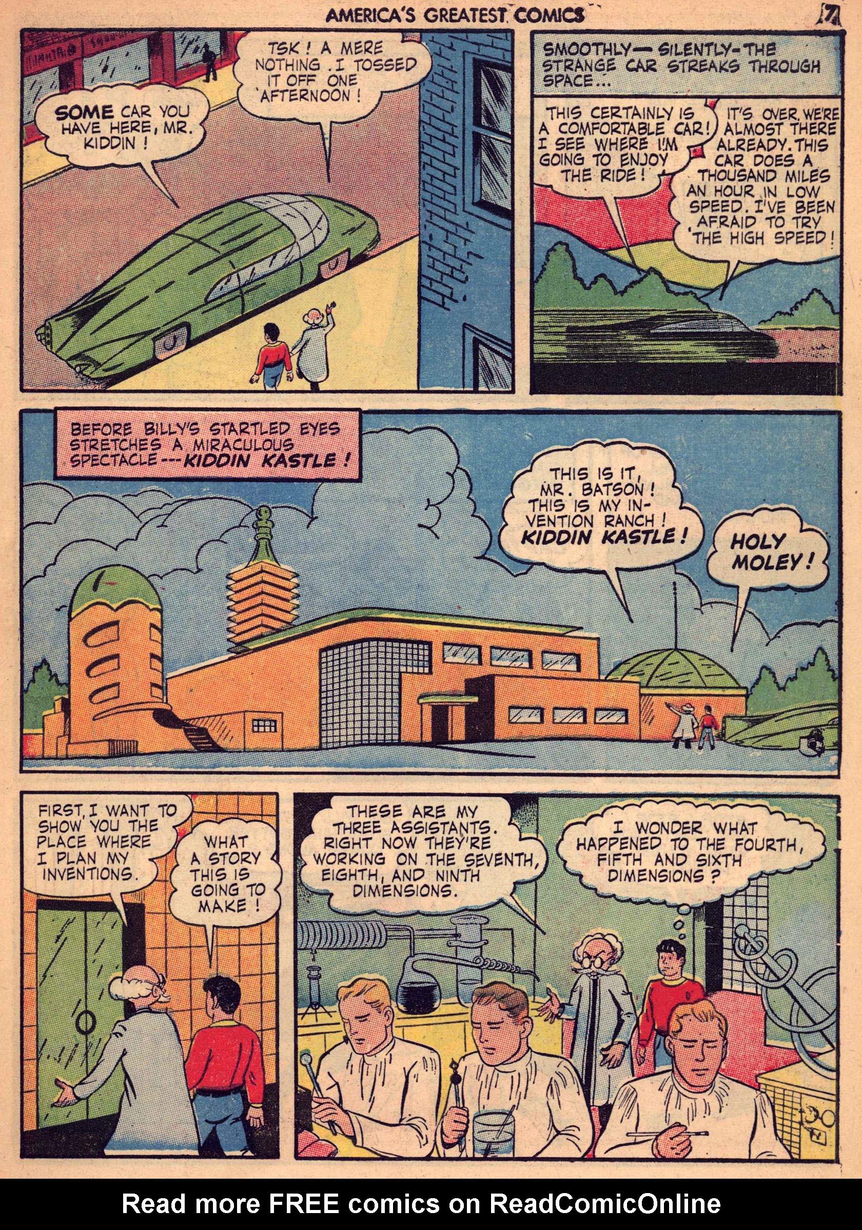 Read online America's Greatest Comics comic -  Issue #7 - 6
