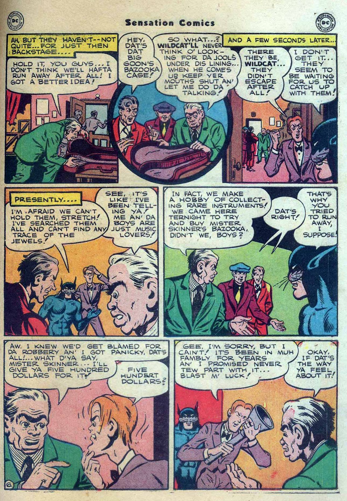 Sensation (Mystery) Comics issue 56 - Page 47