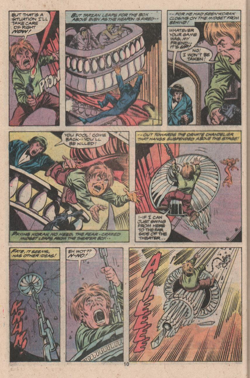 Read online Tarzan (1977) comic -  Issue # _Annual 3 - 9