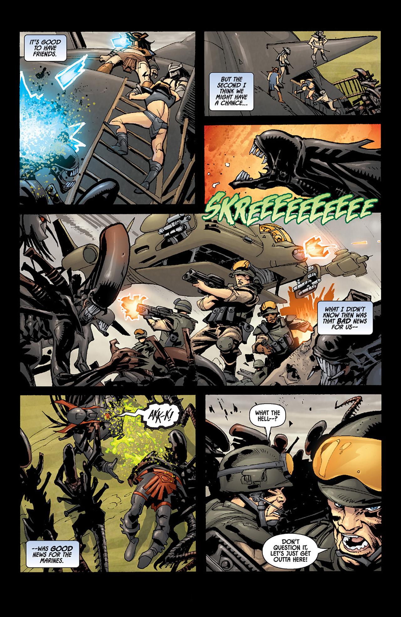 Read online Aliens vs. Predator: Three World War comic -  Issue #6 - 19