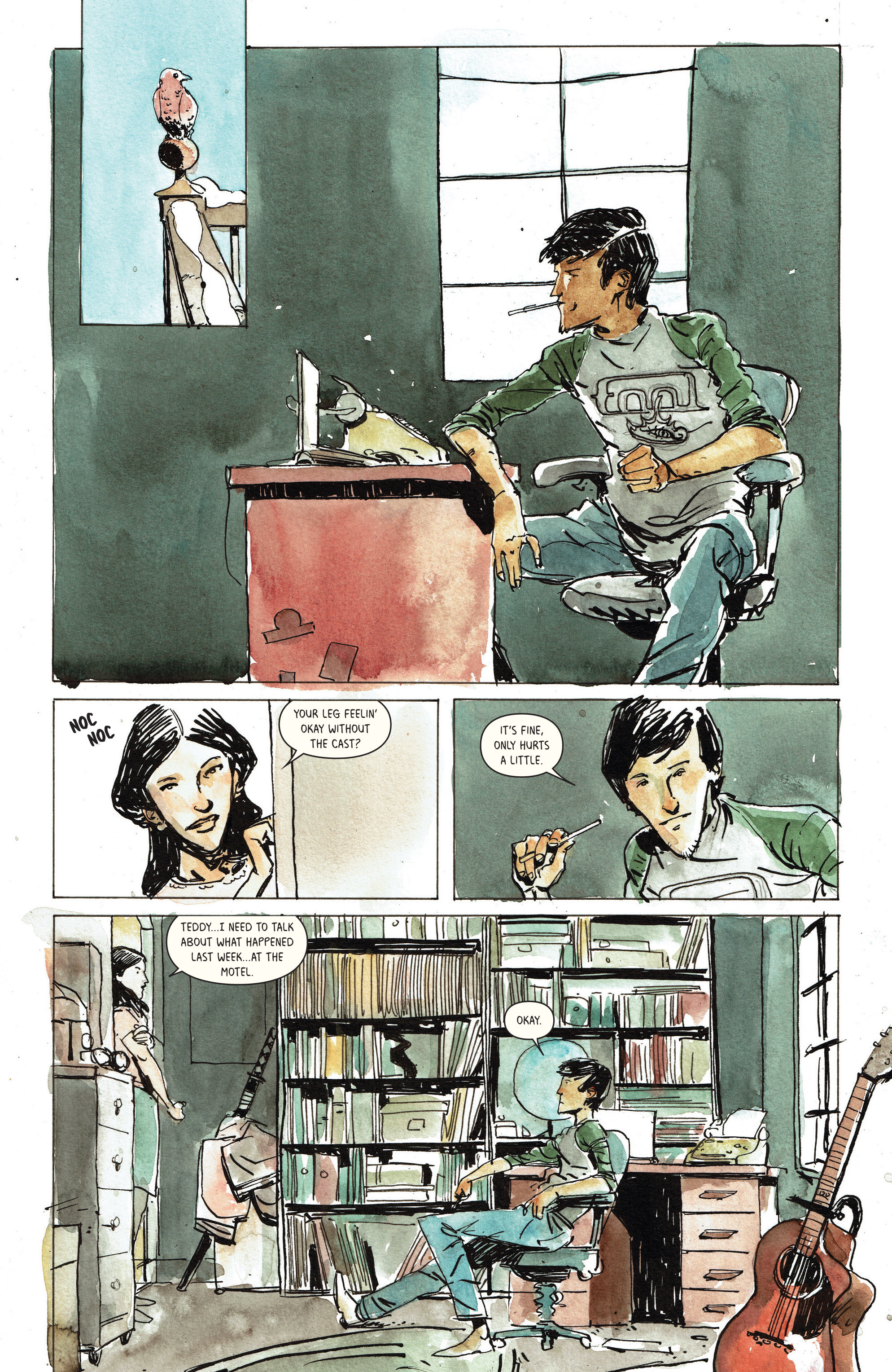 Read online Snow Blind comic -  Issue #3 - 6