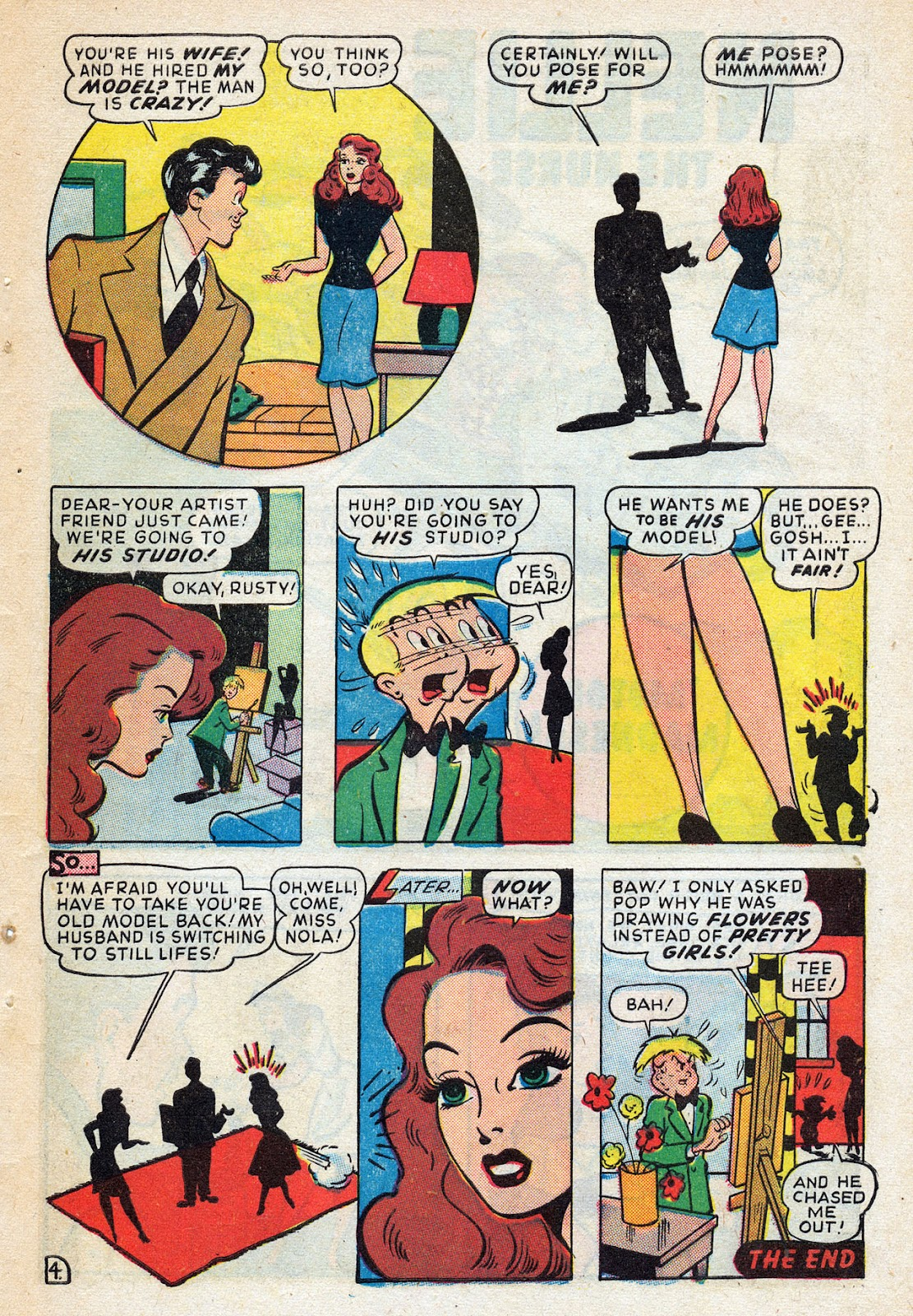 Read online Nellie The Nurse (1945) comic -  Issue #14 - 41