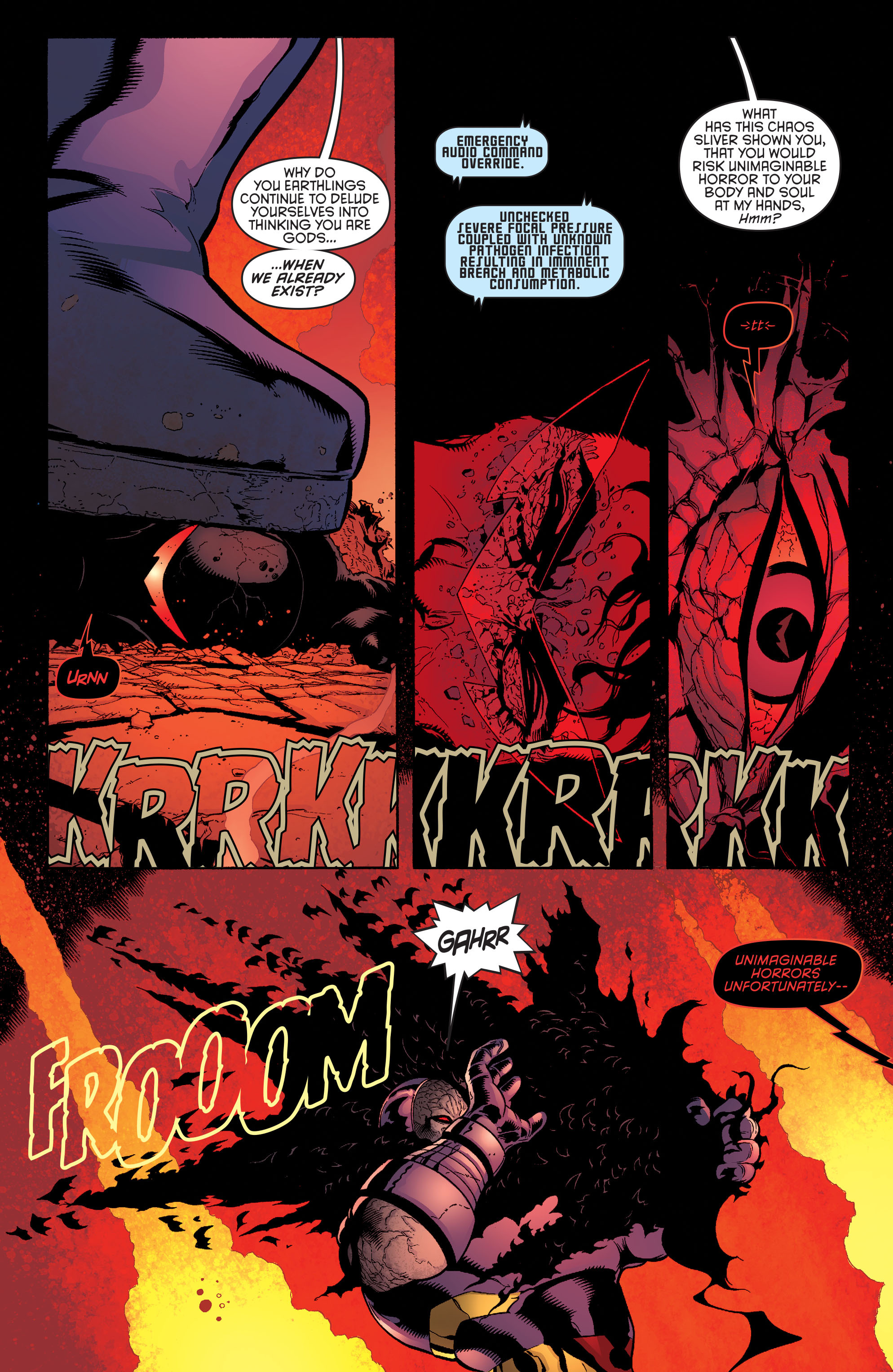 Read online Batman and Robin (2011) comic -  Issue #37 - 10