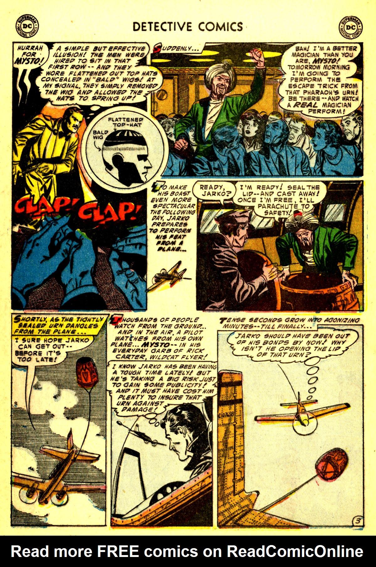 Read online Detective Comics (1937) comic -  Issue #211 - 36