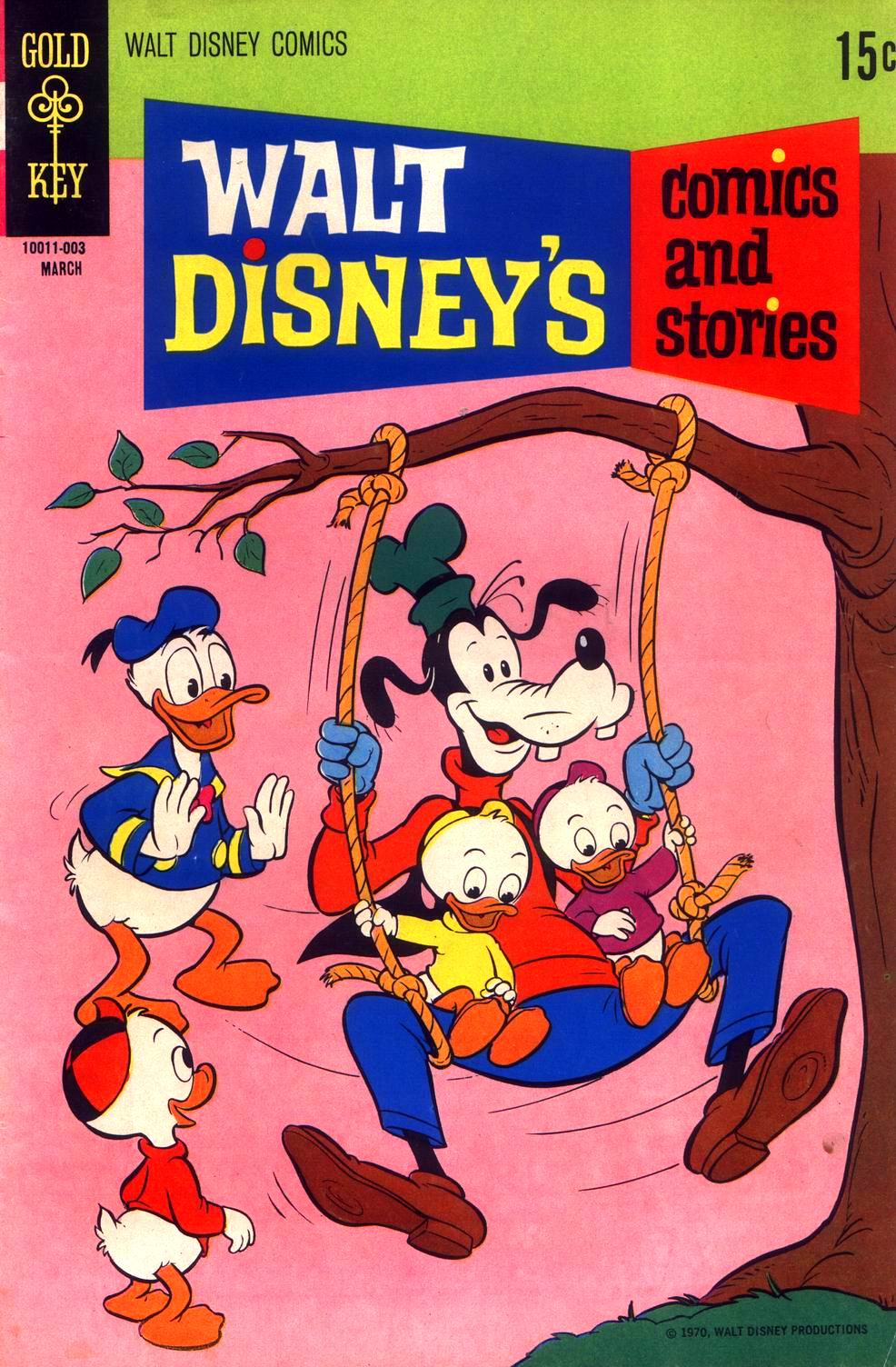 Walt Disney's Comics and Stories issue 354 - Page 2