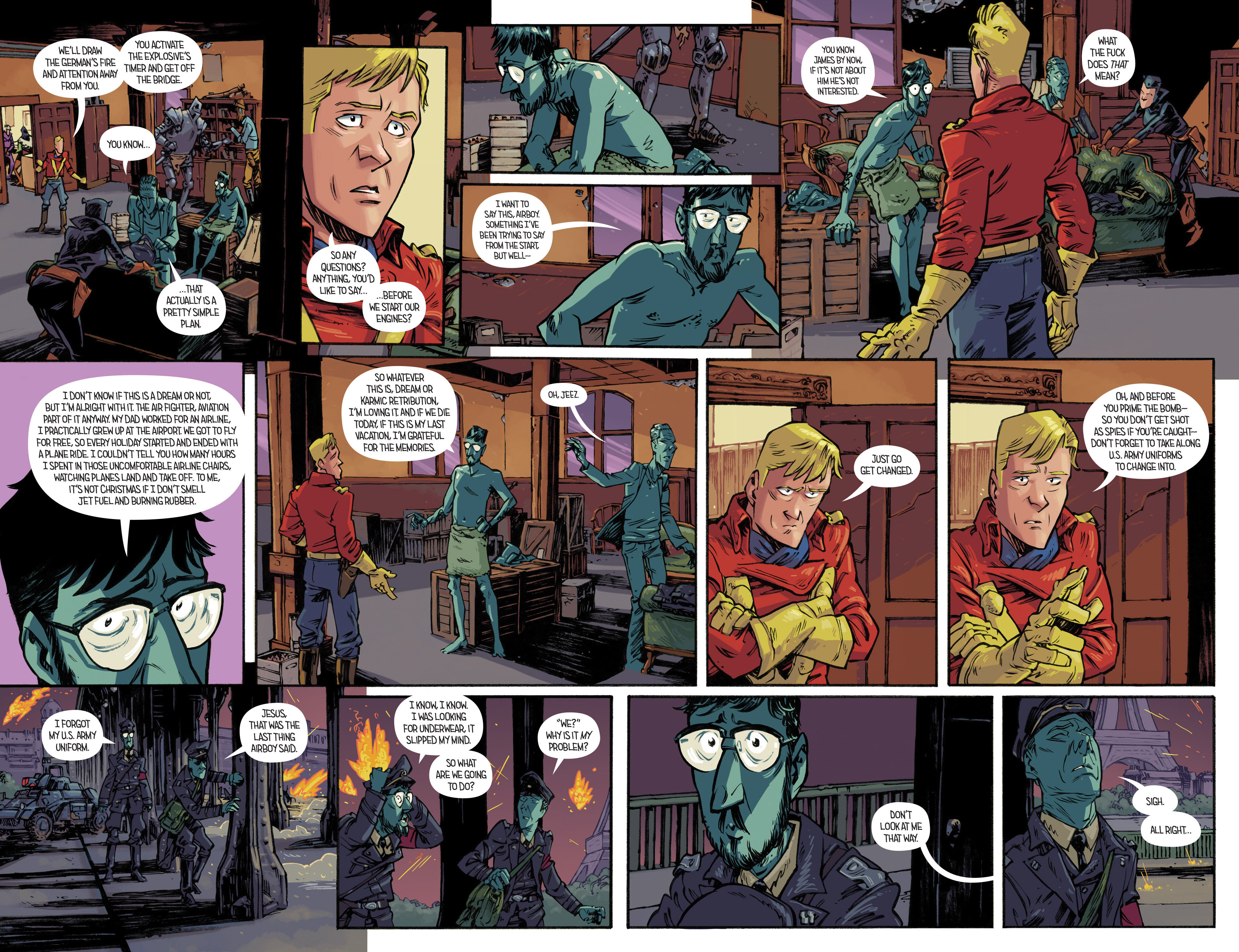 Read online Airboy comic -  Issue #4 - 12