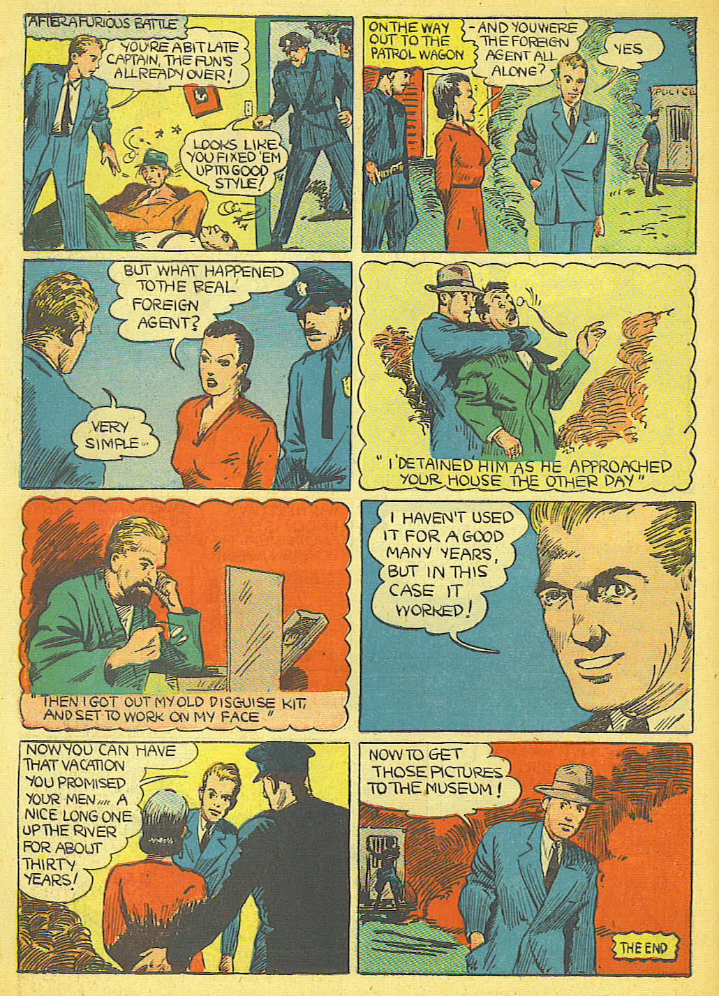 Read online Amazing Man Comics comic -  Issue #19 - 58