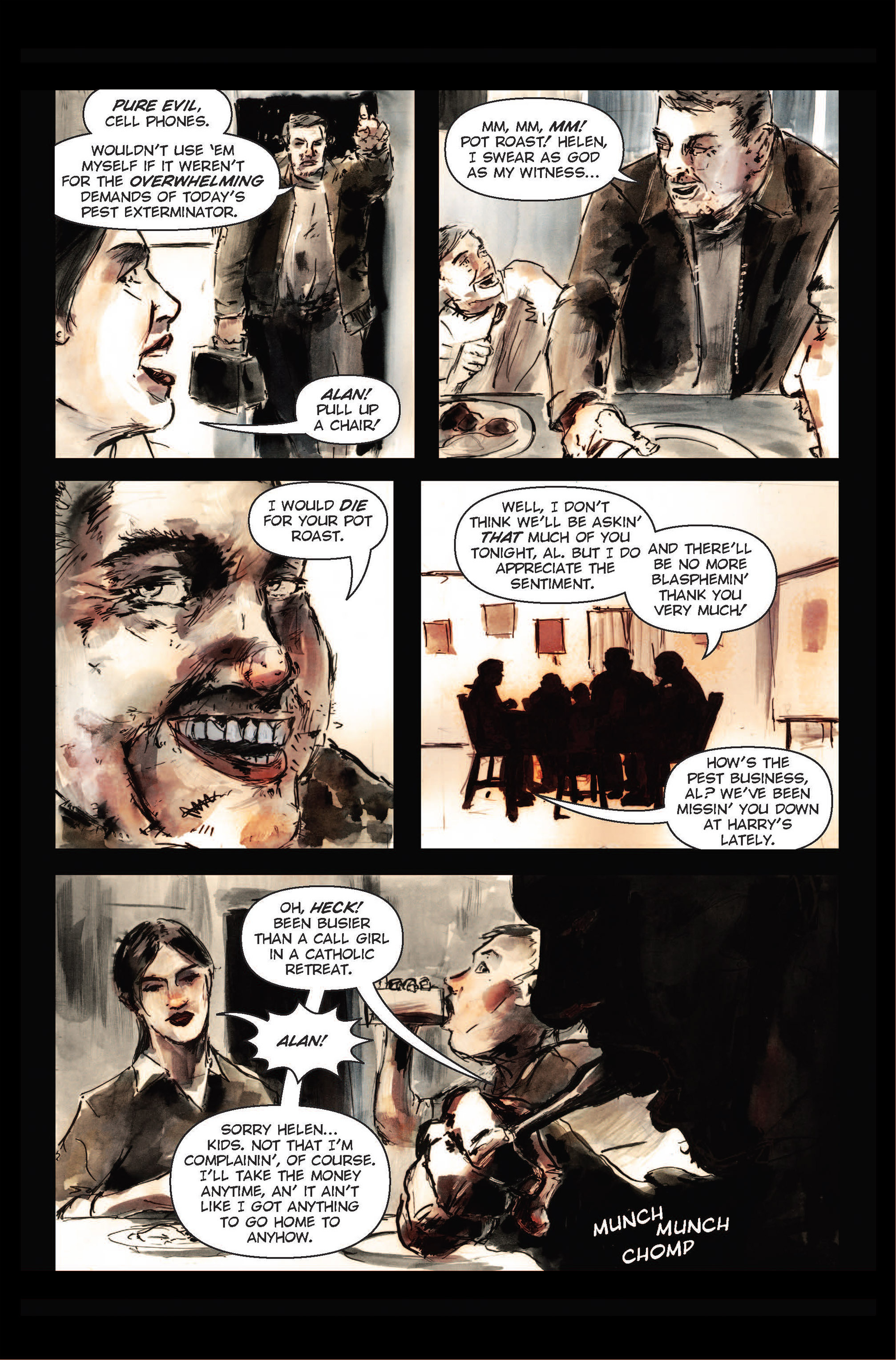 Read online The Final Plague comic -  Issue #1 - 20