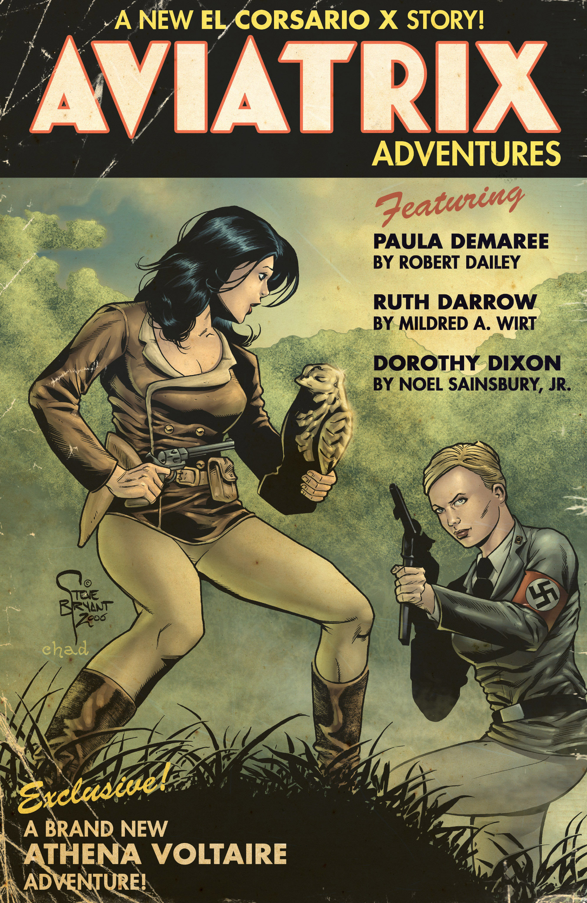 Read online Athena Voltaire and the Volcano Goddess comic -  Issue #2 - 26