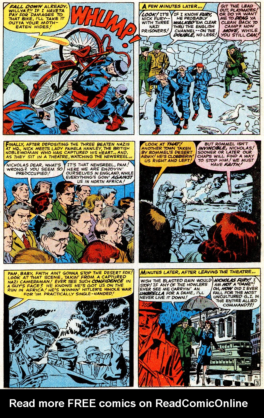Read online Sgt. Fury comic -  Issue # _Special 5 - 5