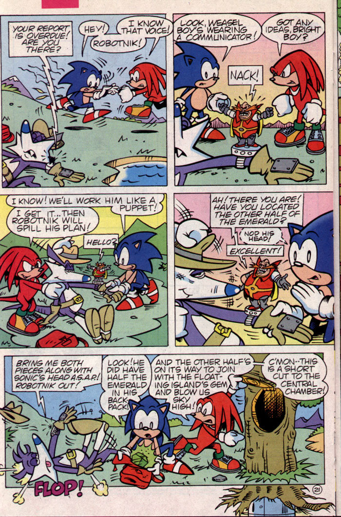 Read online Sonic The Hedgehog Triple Trouble Special comic -  Issue # Full - 23