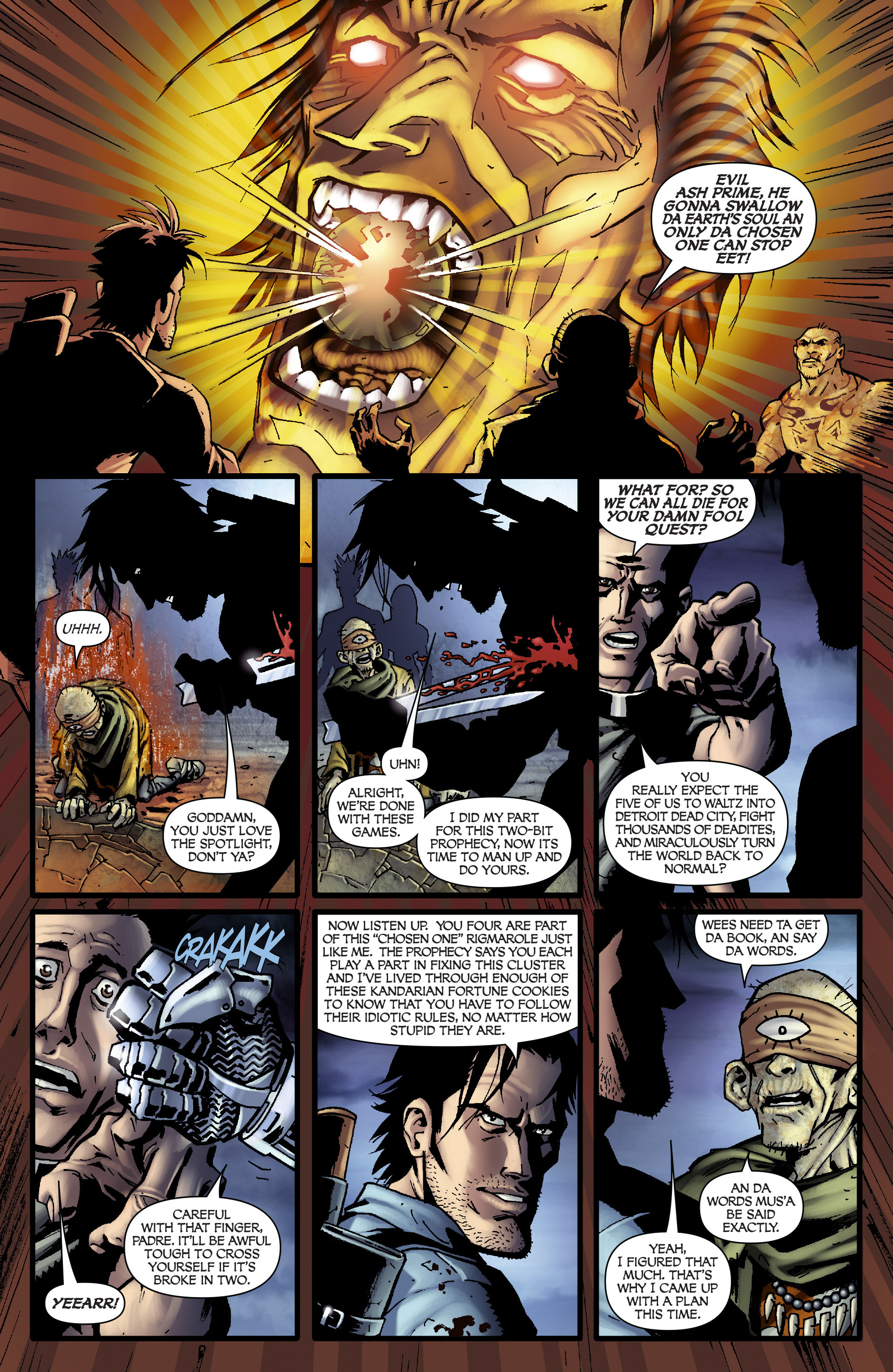 Read online Army of Darkness: From the Ashes comic -  Issue #Army of Darkness: From the Ashes TPB - 82