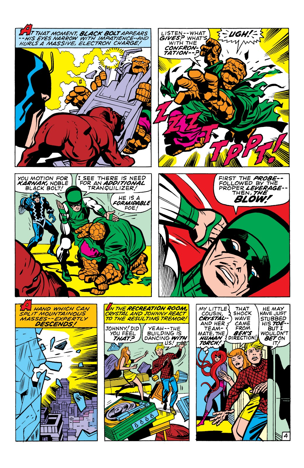 Read online Marvel Masterworks: The Inhumans comic -  Issue # TPB 1 (Part 1) - 84