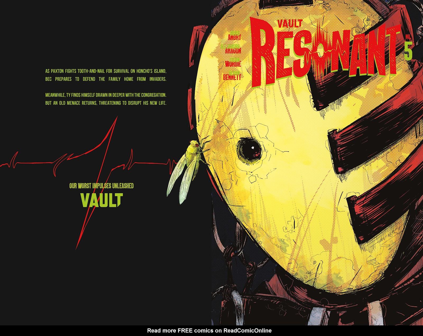 Read online Resonant comic -  Issue #5 - 1