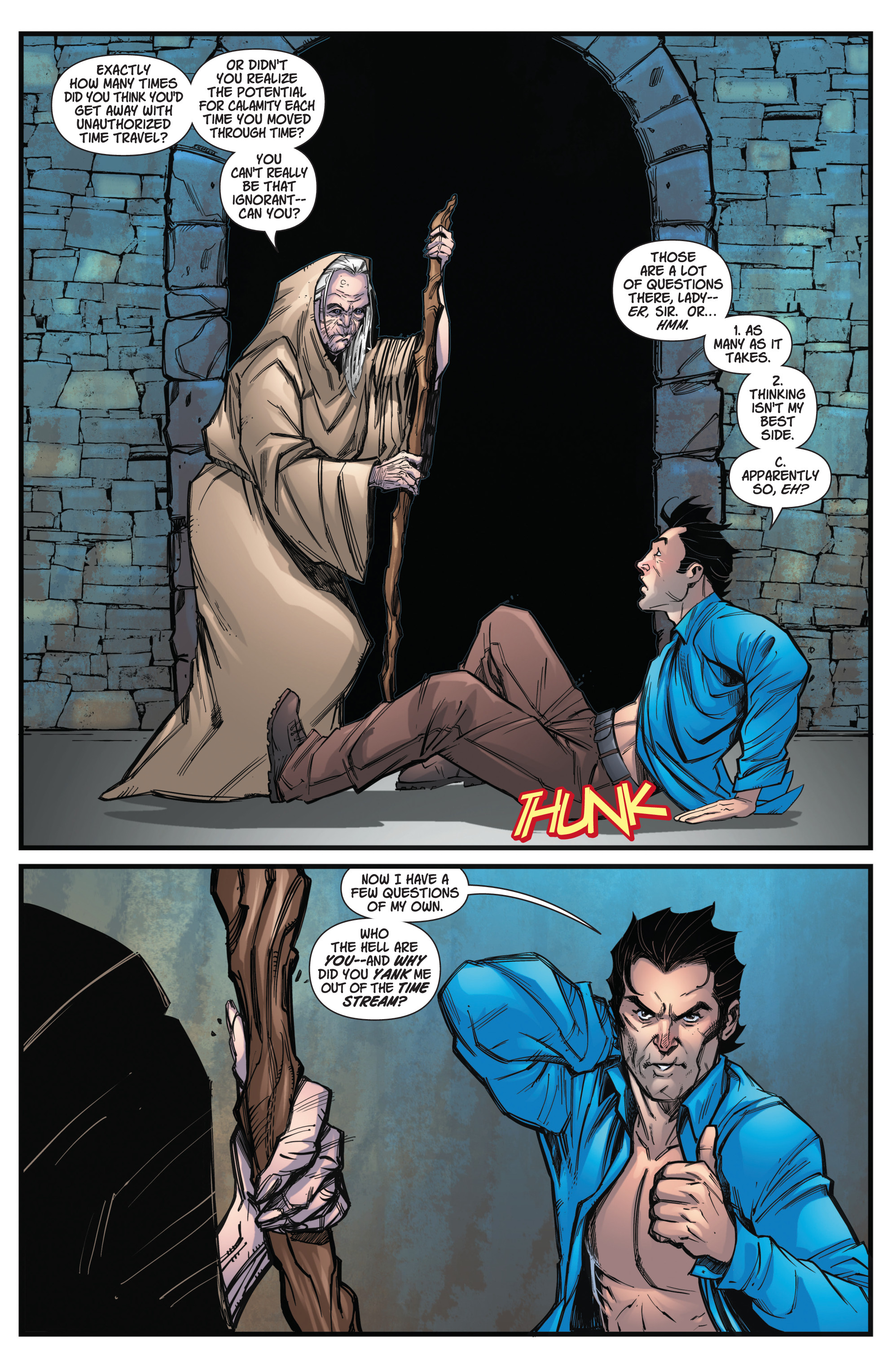 Read online Army Of Darkness/Xena: Forever…And A Day comic -  Issue #2 - 9