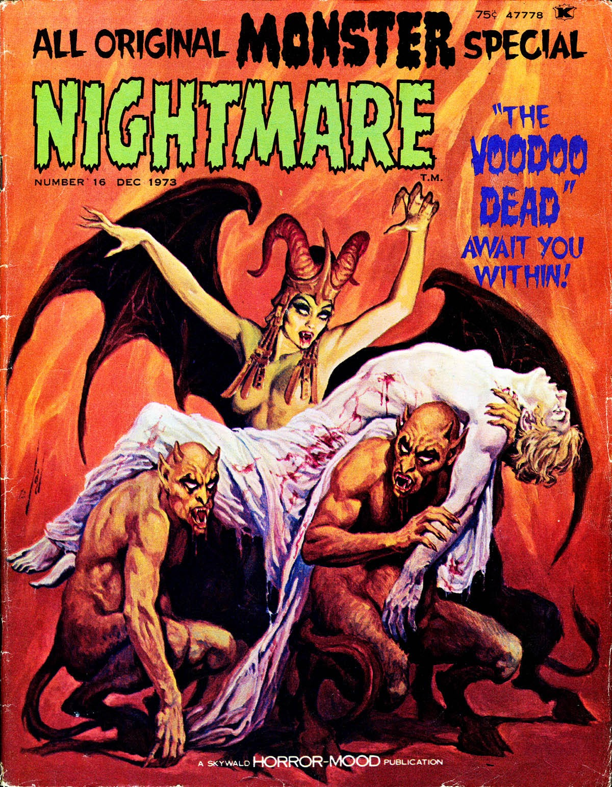 Nightmare (1970) issue 16 - Page 1