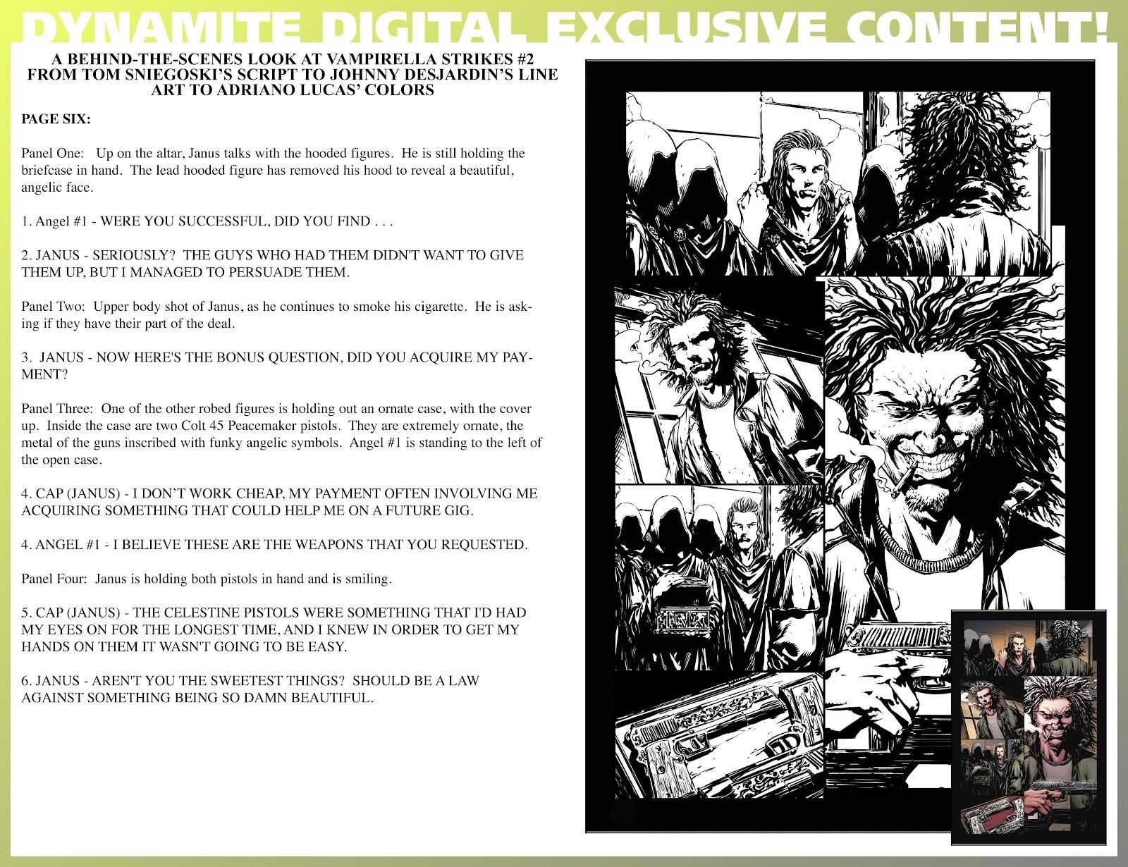 Read online Vampirella Strikes comic -  Issue #2 - 28