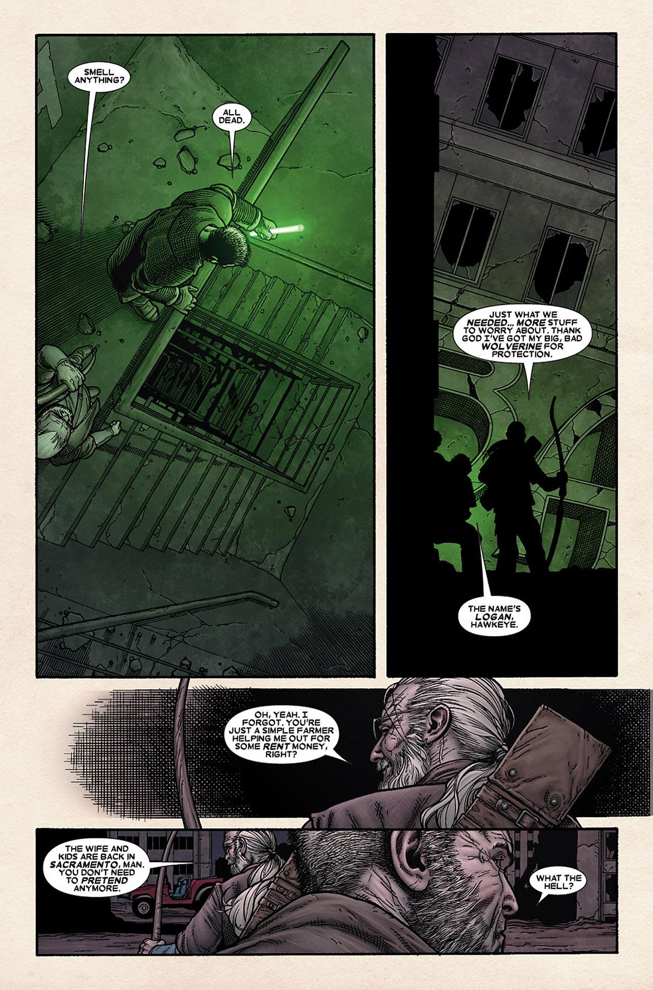 Read online Wolverine: Old Man Logan comic -  Issue # Full - 34