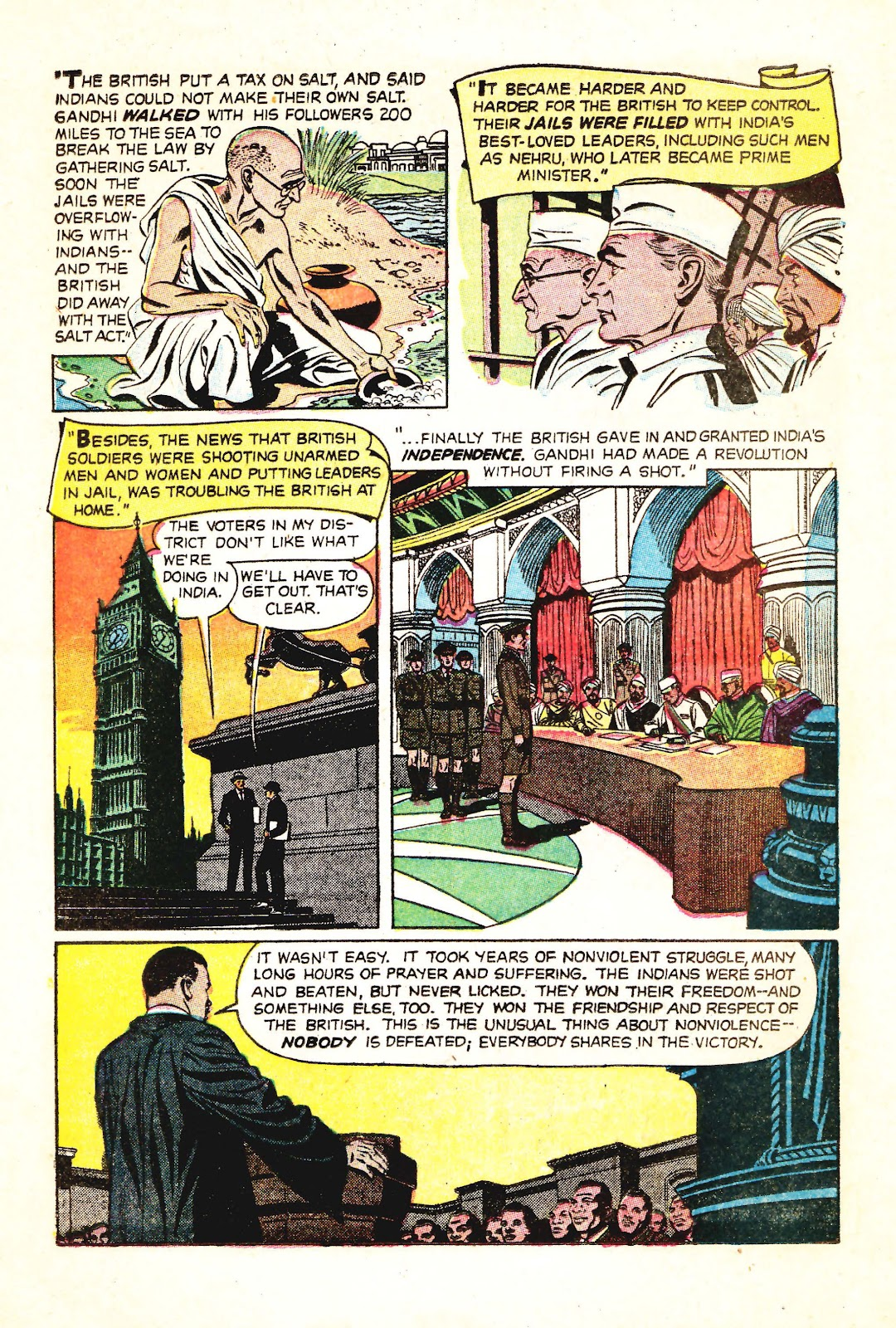 Read online Martin Luther King and the Montgomery Story comic -  Issue # Full - 12