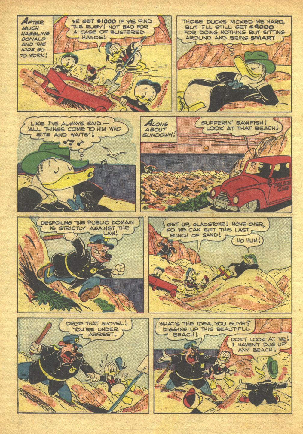 Walt Disney's Comics and Stories issue 103 - Page 10