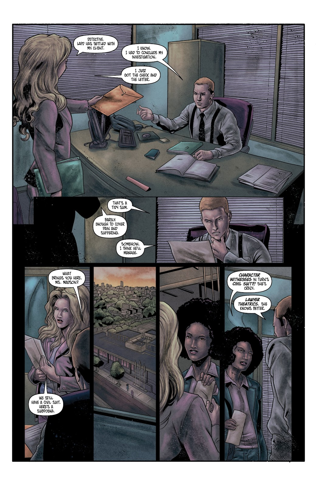 Read online Vindication comic -  Issue #4 - 6