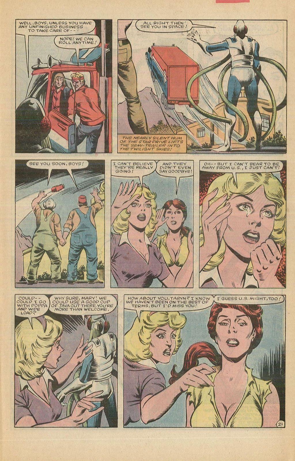 Read online U.S. 1 comic -  Issue #12 - 31