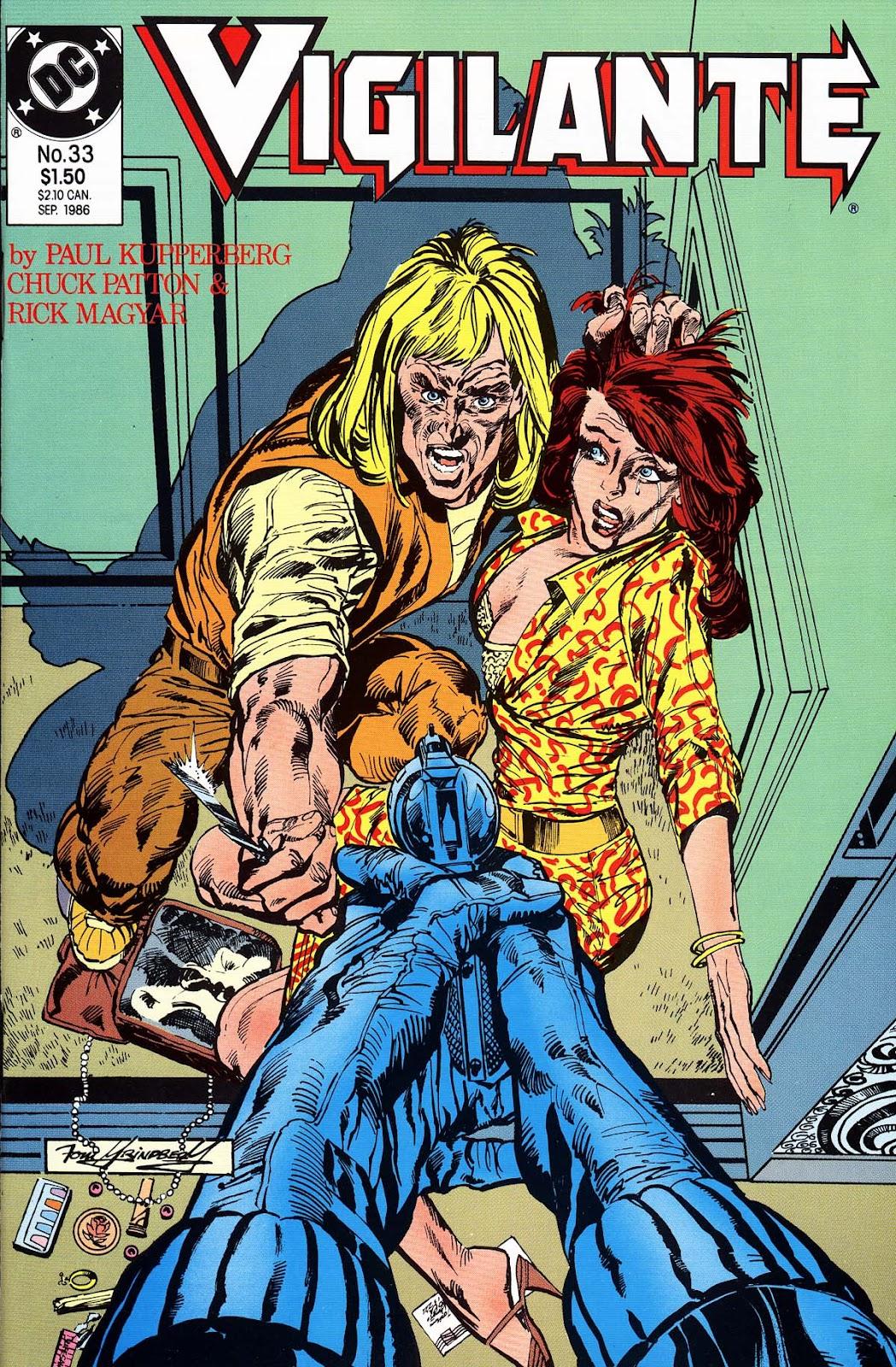 Vigilante (1983) issue 33 - Page 1