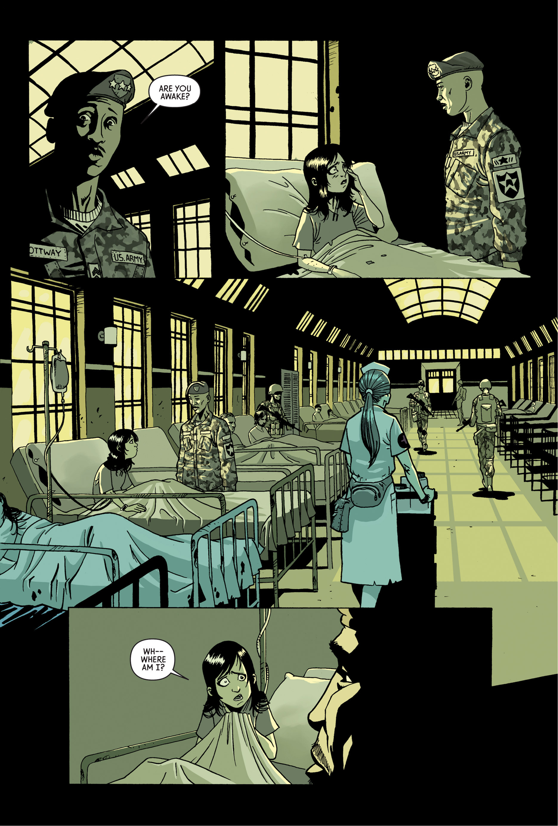 Read online Trespasser comic -  Issue #4 - 17