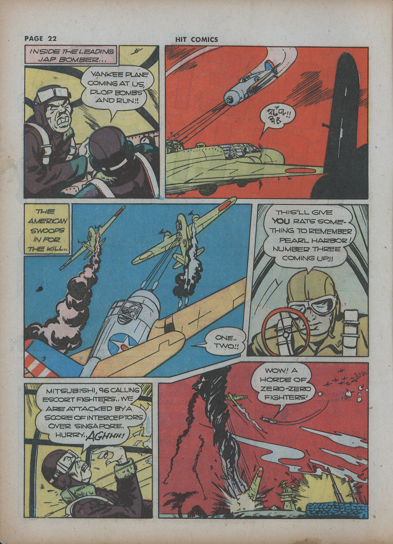 Read online Hit Comics comic -  Issue #22 - 24