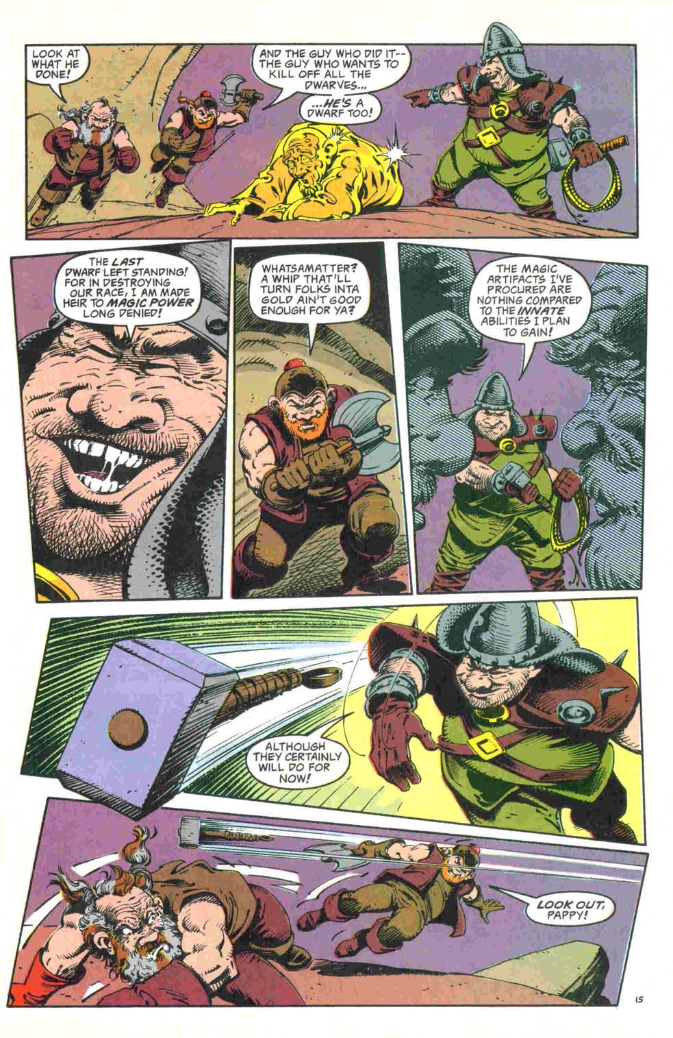 Read online Advanced Dungeons & Dragons comic -  Issue #32 - 16