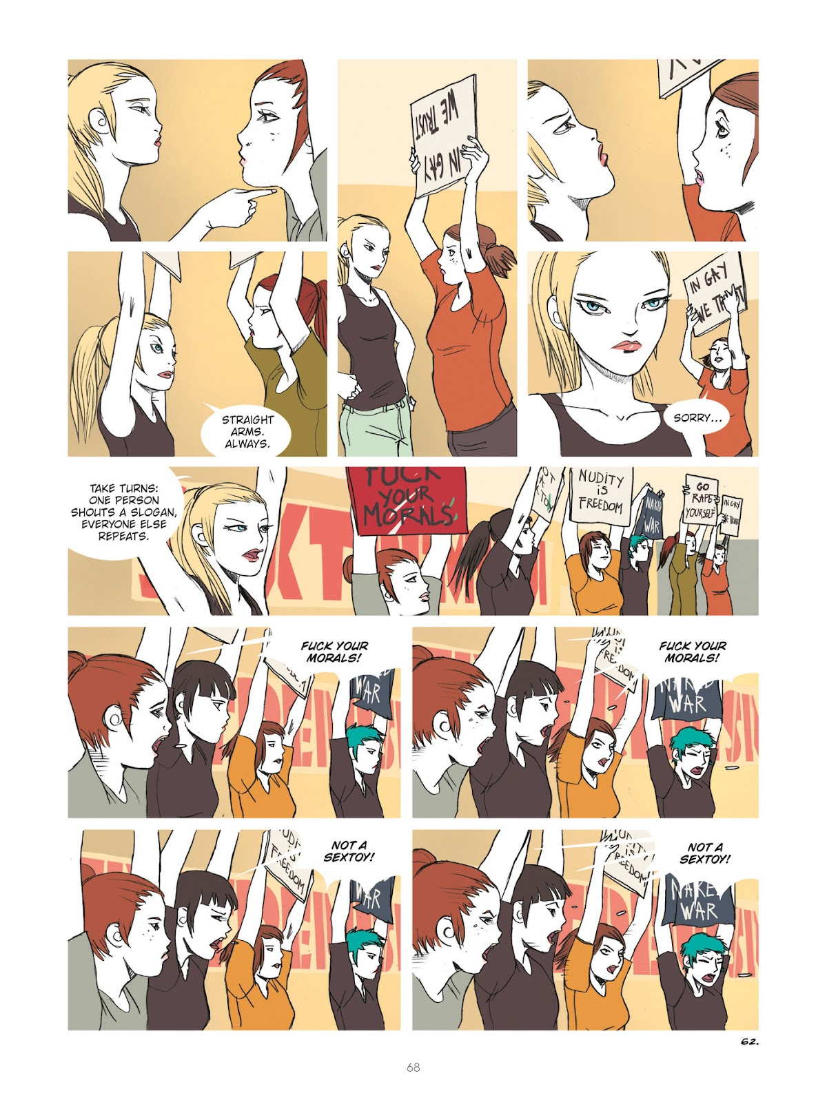 Read online Diary of A Femen comic -  Issue # TPB - 70