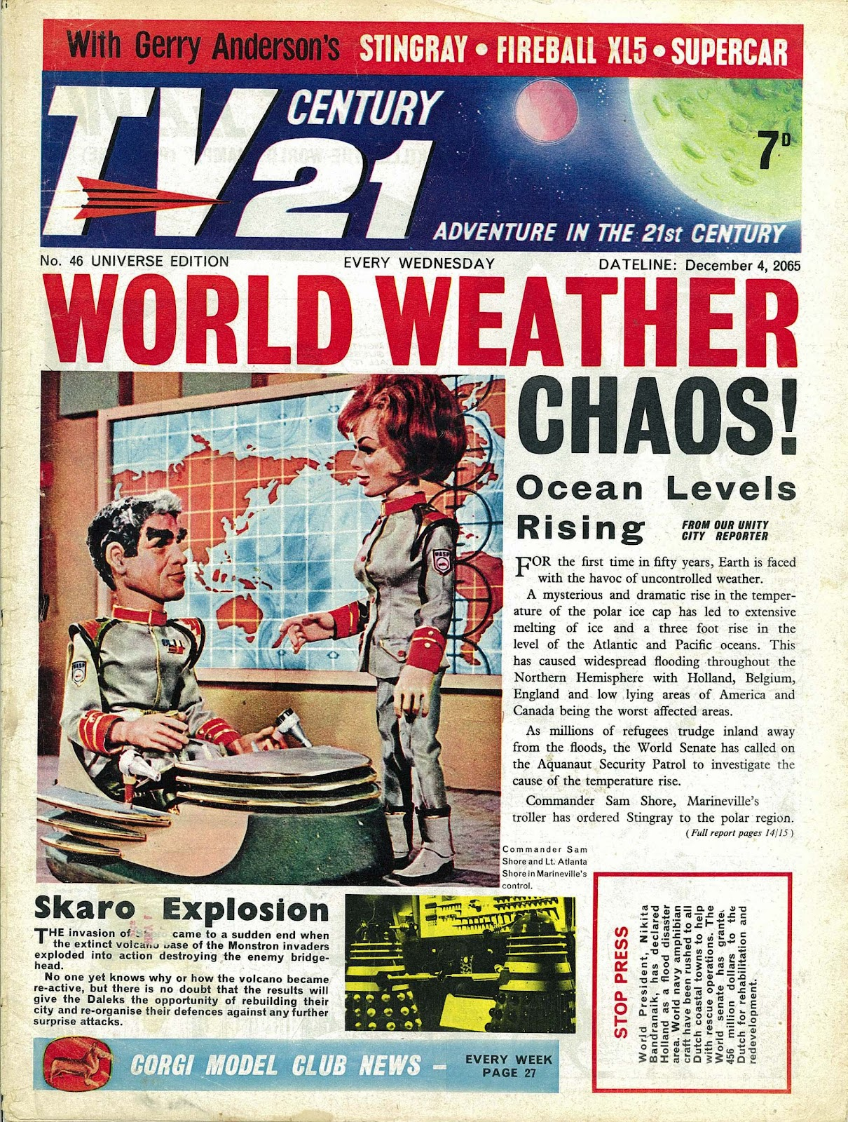 TV Century 21 (TV 21) issue 46 - Page 1