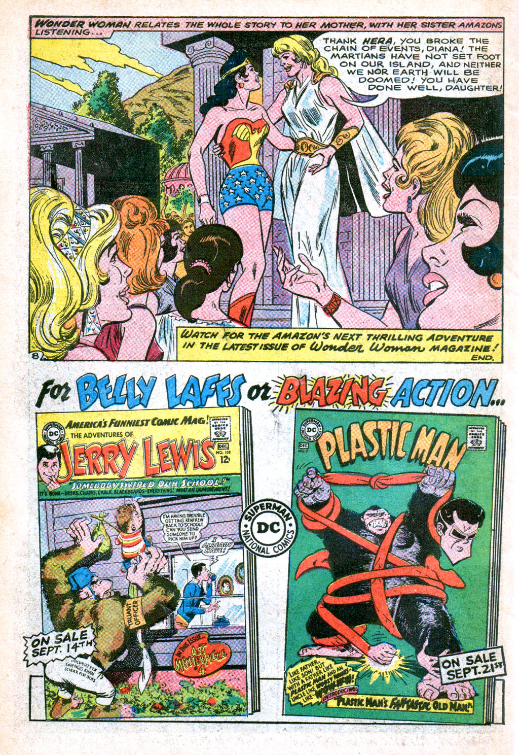 Read online Wonder Woman (1942) comic -  Issue #173 - 34