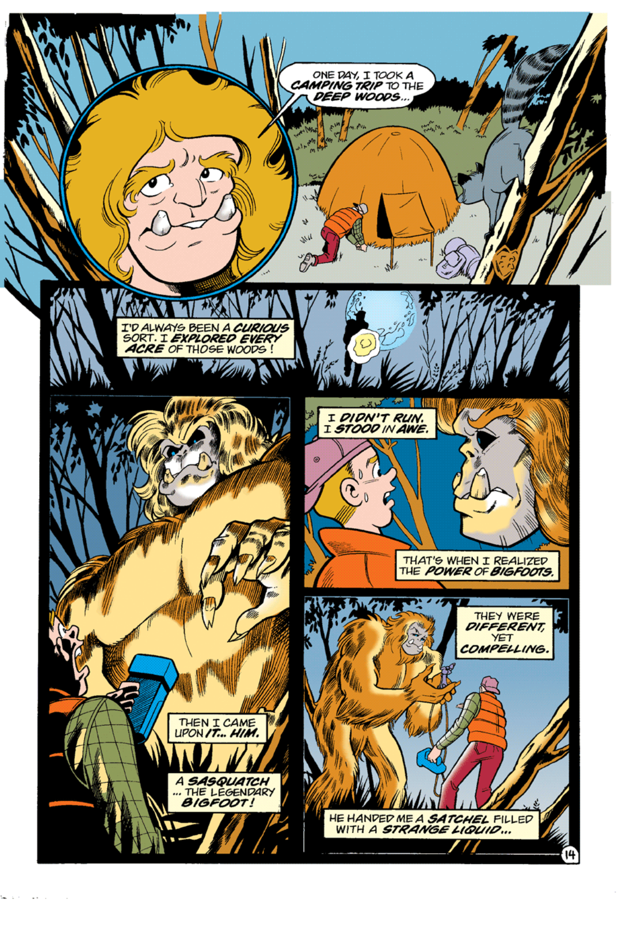 Read online Archie's Weird Mysteries comic -  Issue #10 - 16