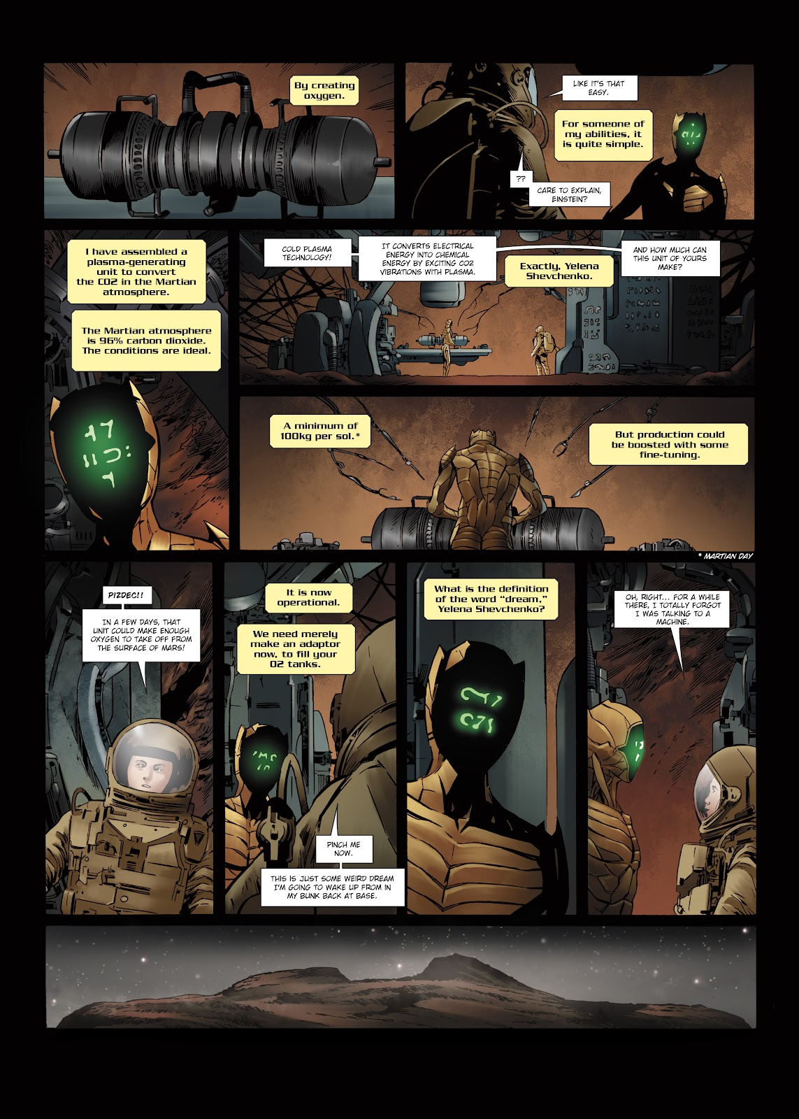 Read online Olympus Mons Vol. 1: Anomaly One comic -  Issue #5 - 27