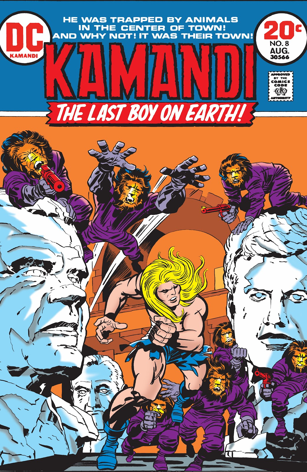 Kamandi, The Last Boy On Earth issue 8 - Page 1