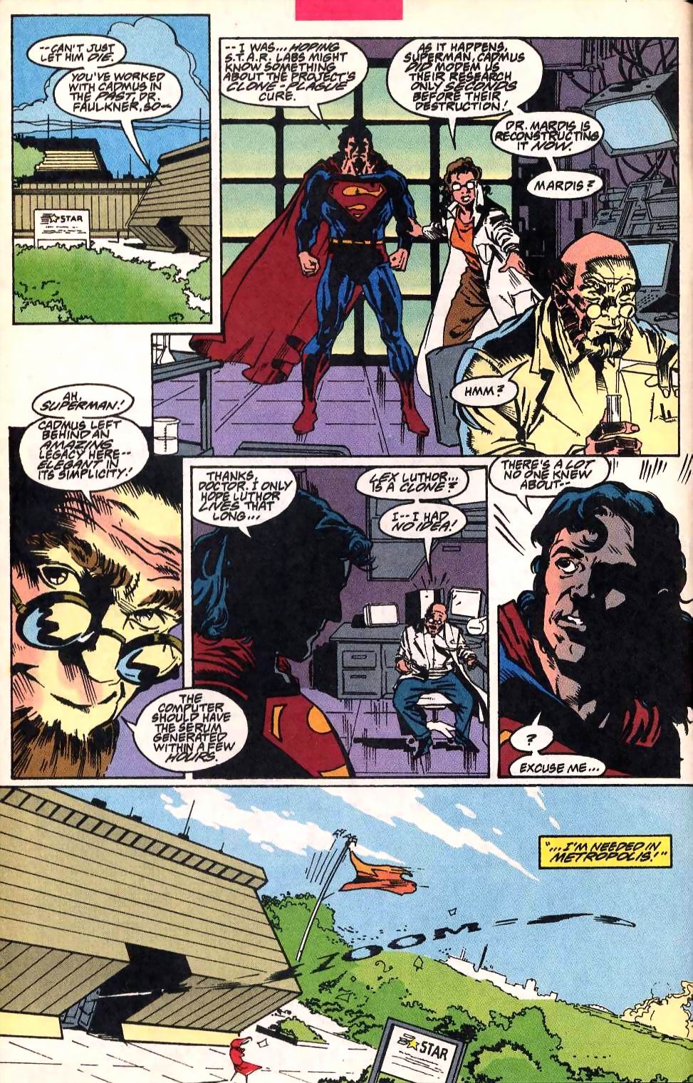 Read online Adventures of Superman (1987) comic -  Issue #514 - 5
