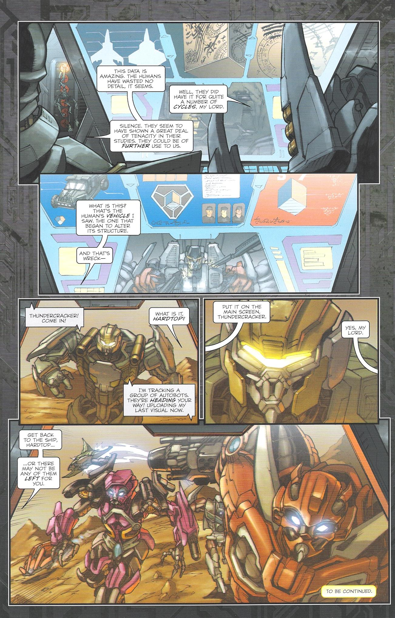 Read online Transformers: The Reign of Starscream comic -  Issue #2 - 24