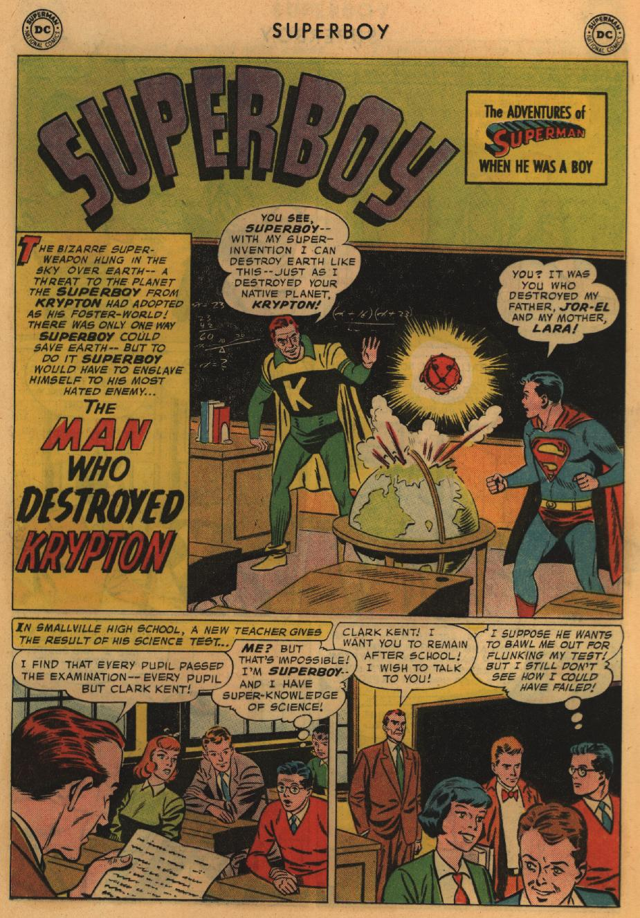 Superboy (1949) issue 67 - Page 23