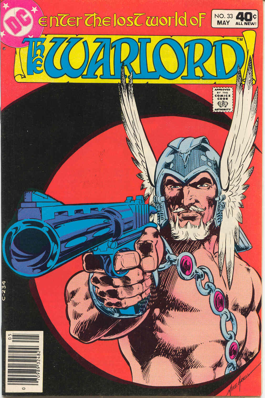 Warlord (1976) issue 33 - Page 1