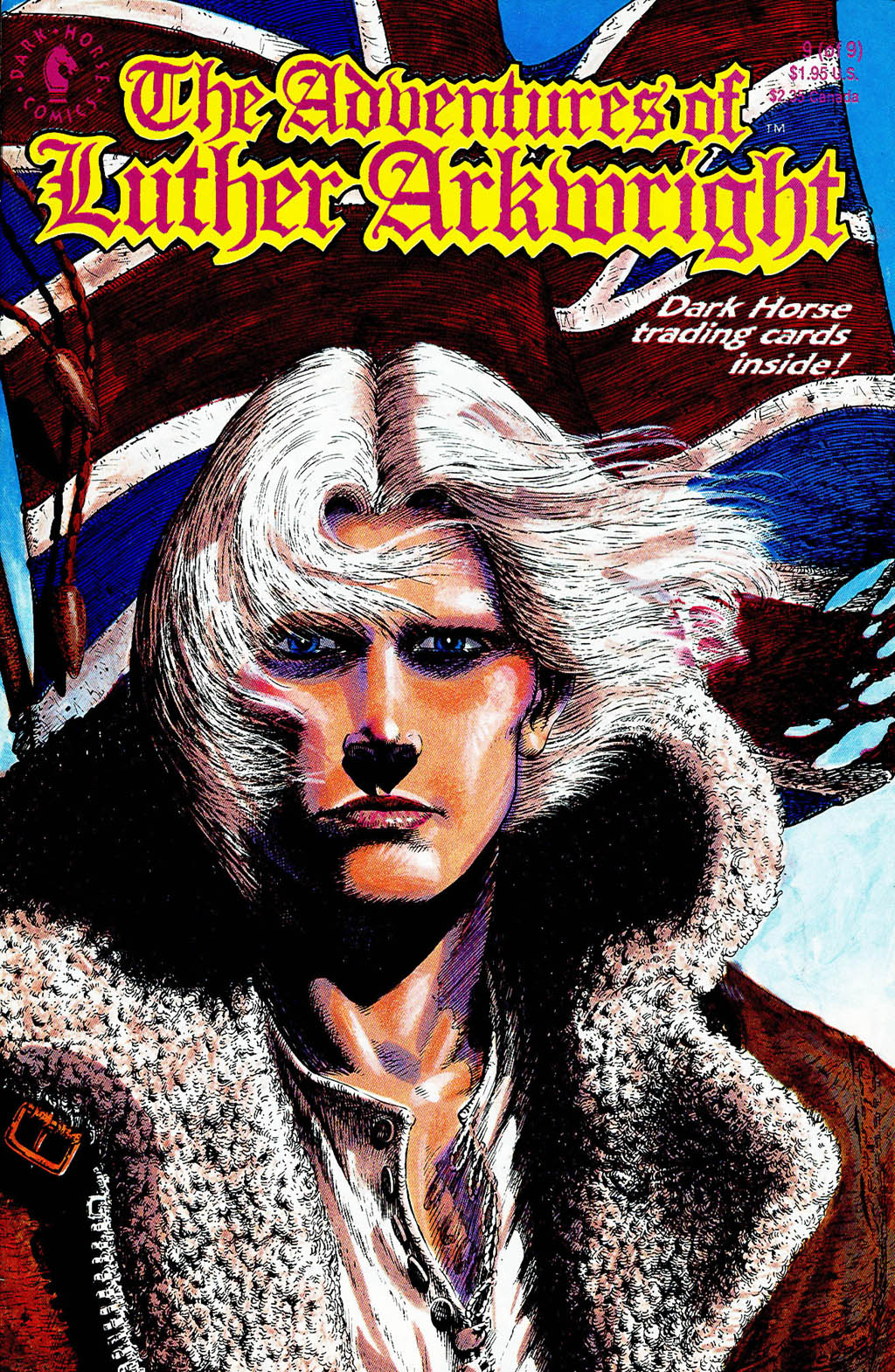 Read online The Adventures of Luther Arkwright comic -  Issue #9 - 1