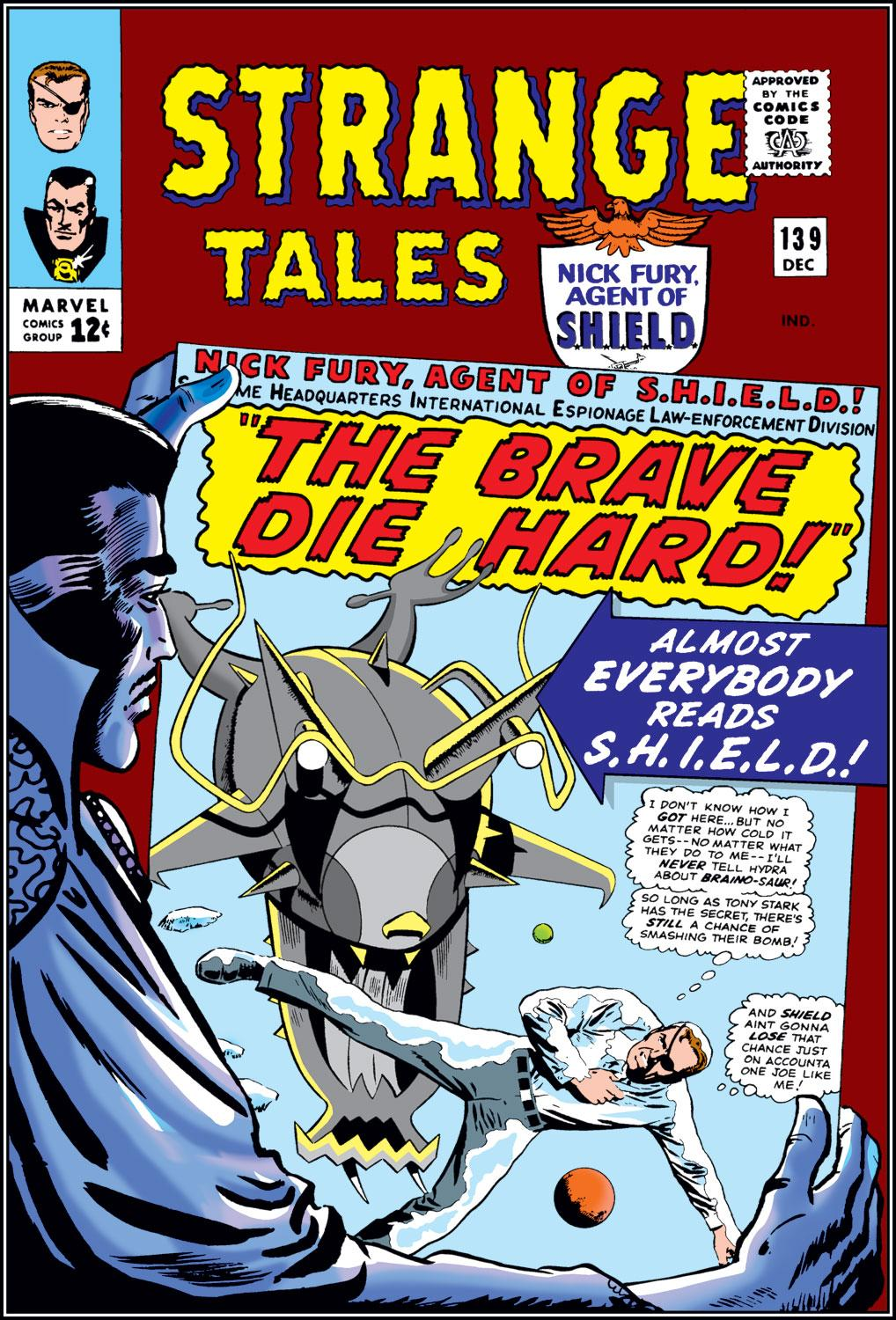 Strange Tales (1951) issue 139 - Page 1