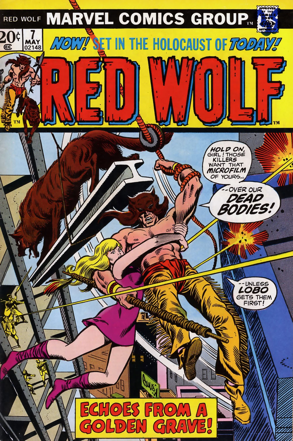 Red Wolf (1972) issue 7 - Page 1